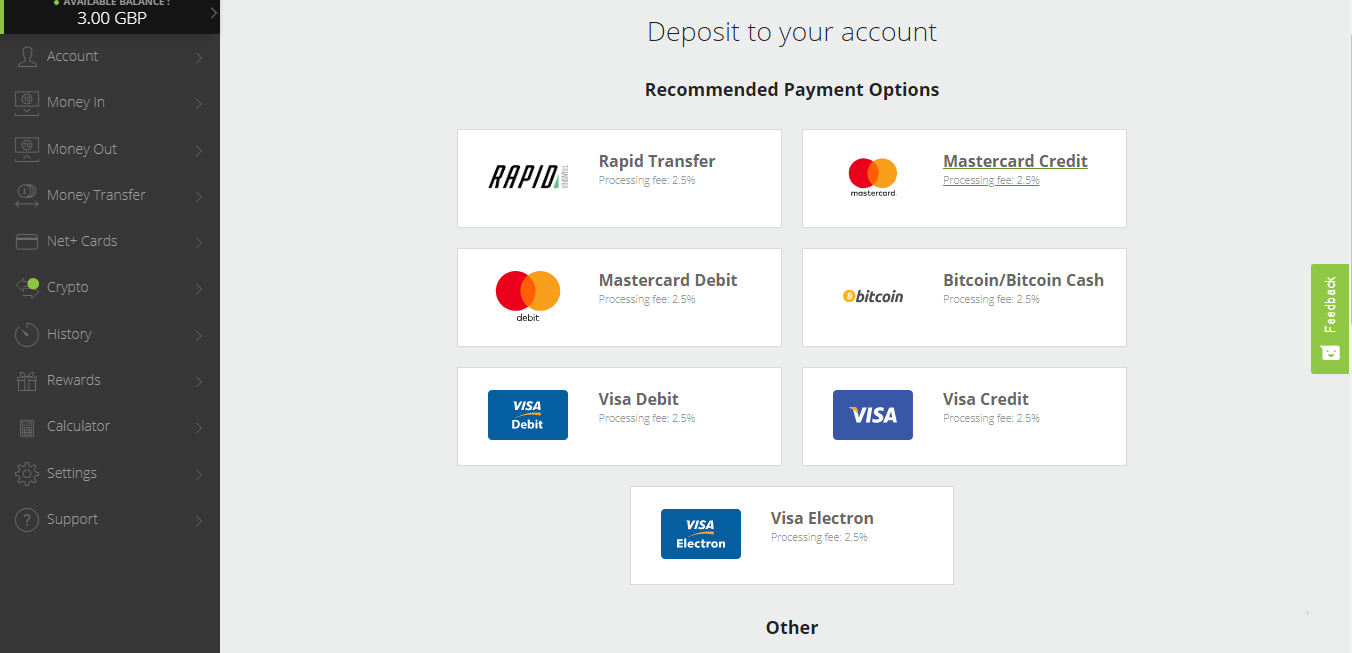 deposito bitcoin neteller)