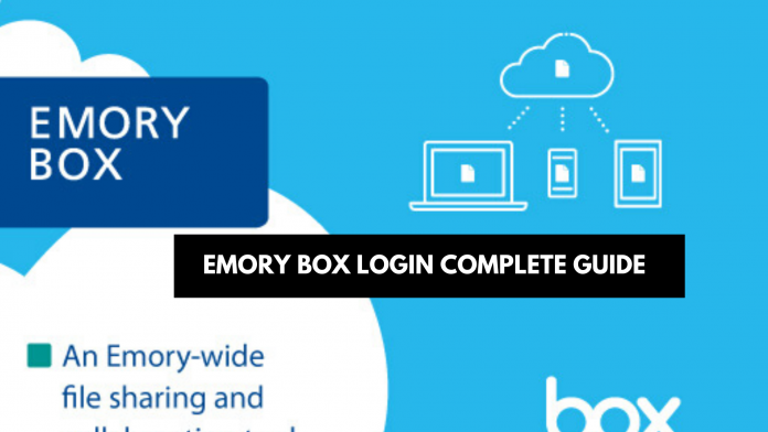 Emory Box Login Complete Guide