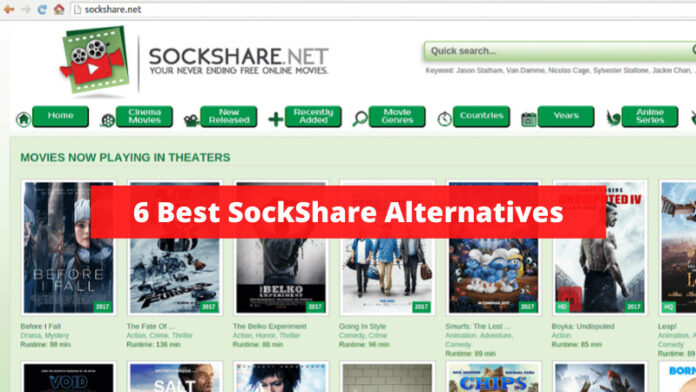 6 Best SockShare Alternatives Update 2020