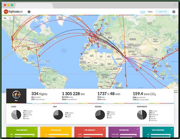 How to Track Your Flight / Flug Verfolgen